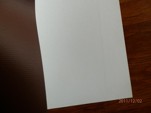 white-black blockout fabric