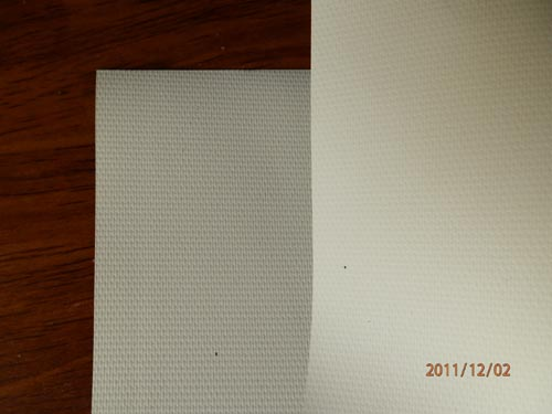 Ivory blockout fabric